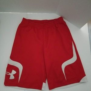 Under Armour Basketball Shorts Youth XL Textured